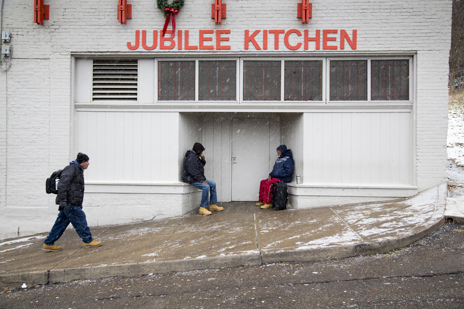 Jubilee Kitchen In The Hill District, One Of The Poorest Parts Of  Pittsburgh, Is A Haven For The Hungry, Especially On A Snowy Sunday.