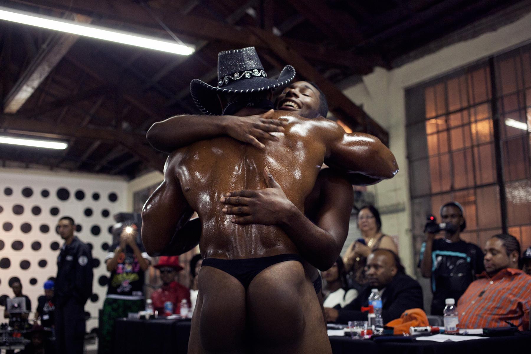 Ebony gay bottoms