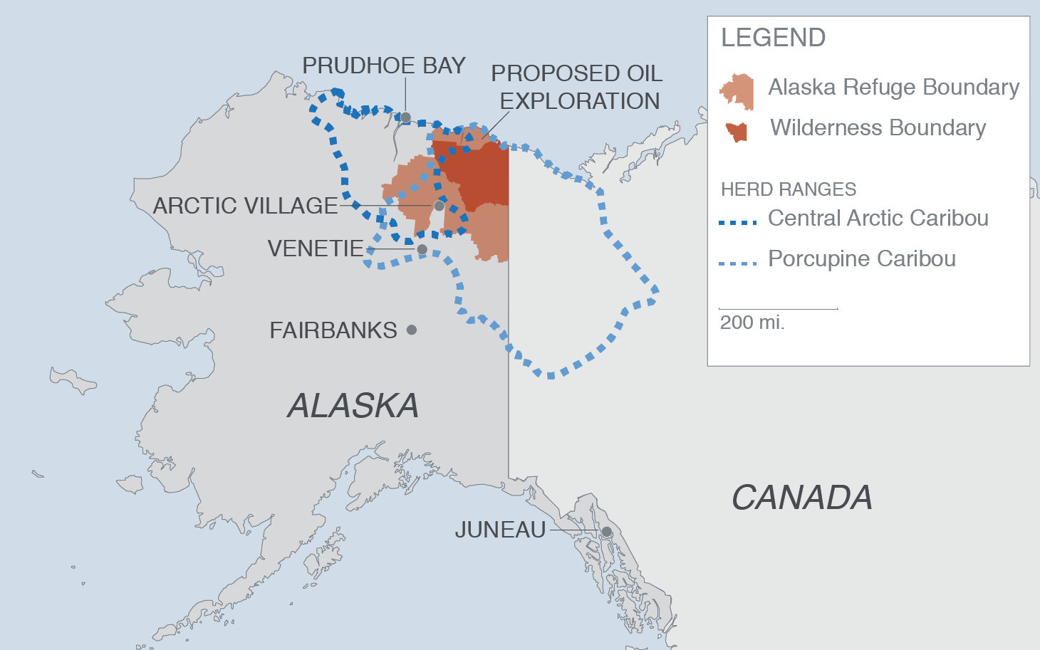 source u s fish and wildlife service arctic national wildlife refuge comprehensive conservation plan chapter 4 map by alex newman al jazeera america