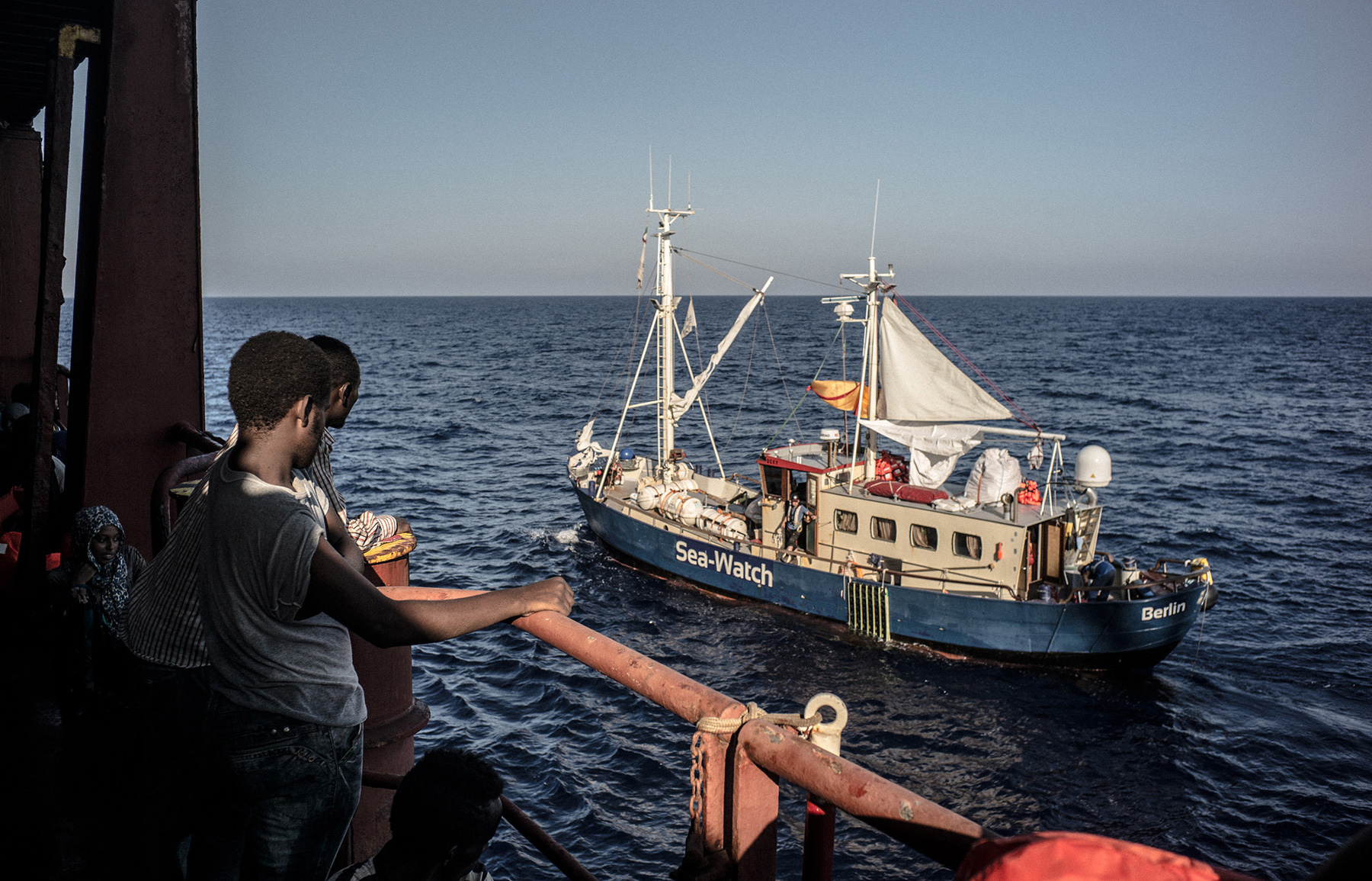 Hands Across the Water: Sea-Watch tries to save the migrants Europe ...